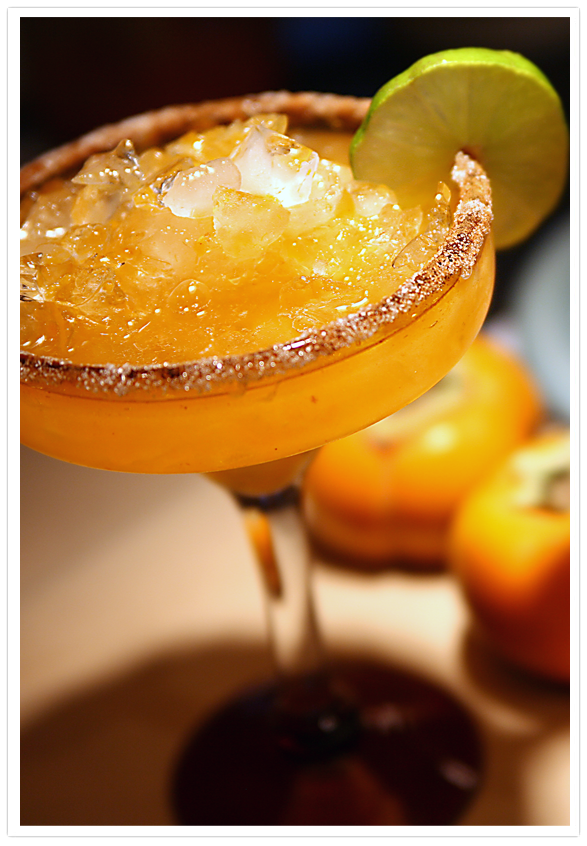 Muy Bueno Cookbook » Persimmon Margarita