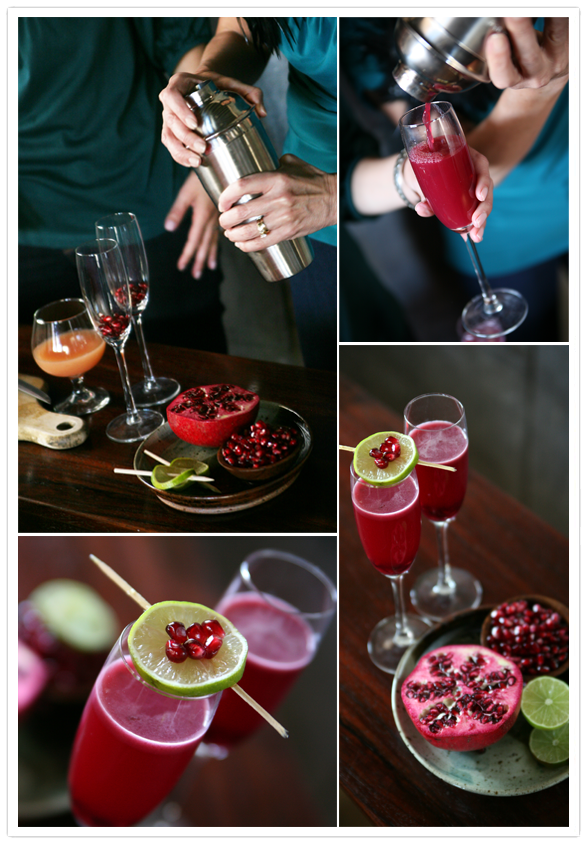 Muy Bueno Cookbook » Pomegranate Grapefruit Campari Cocktail