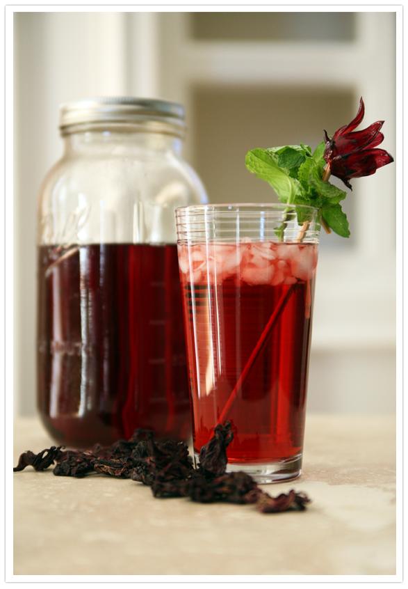 Agua de Jamaica (Hibiscus Tea) - Muy Bueno Cookbook