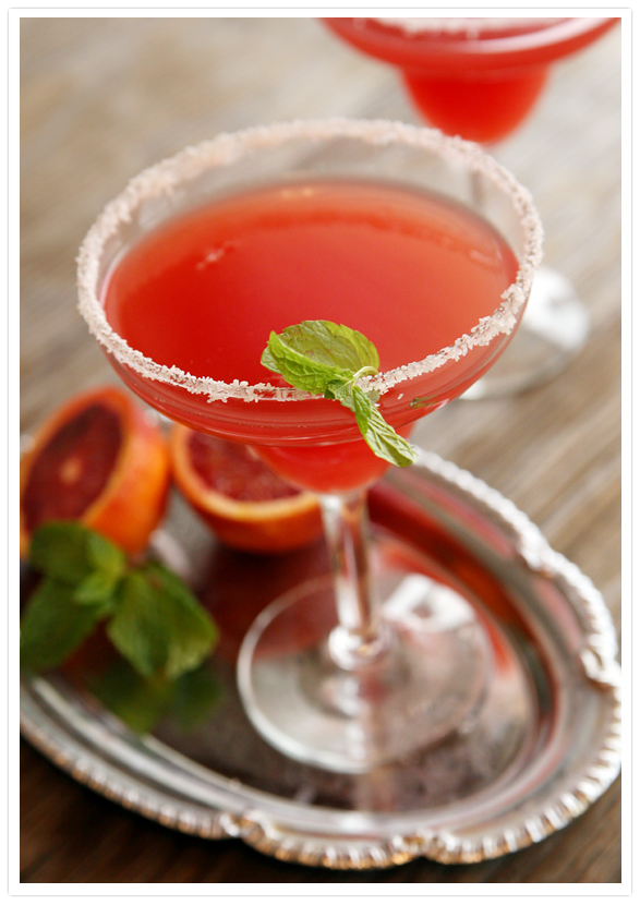 Blood Orange Mezcal Margarita - Muy Bueno Cookbook