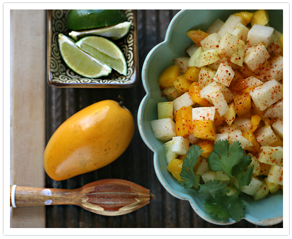 Rick's Mango, Jicama, And Cucumber Salads Recipe — Dishmaps