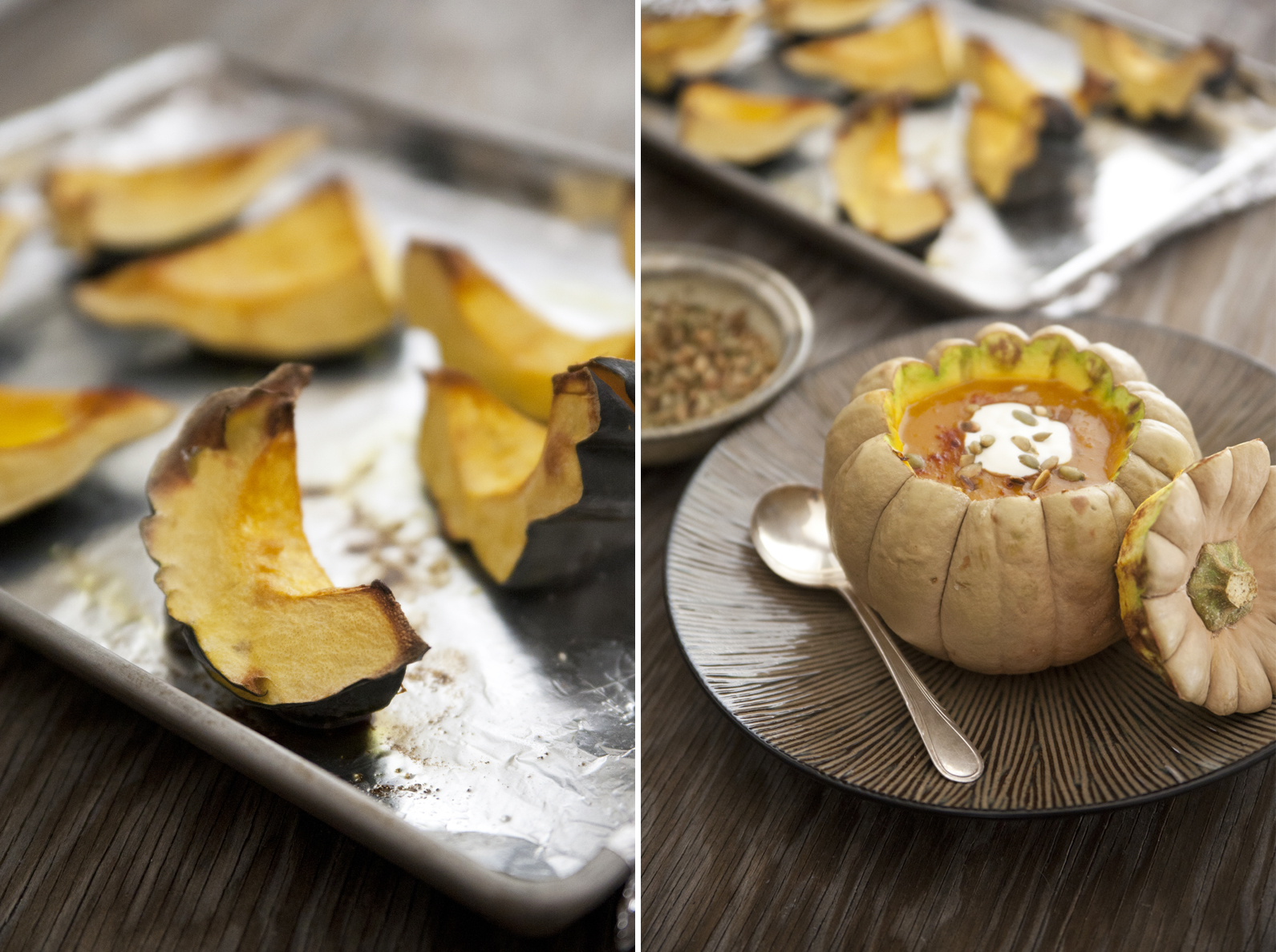 Spicy Acorn Squash and Apple Soup - Muy Bueno Cookbook